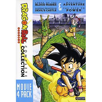 Dragon Ball-4 Movie Pack [DVD] USA import