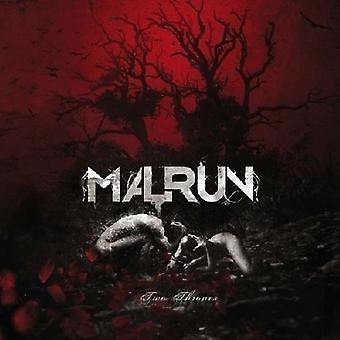 Malrun - Two Thrones [CD] USA importerer