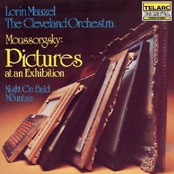 Mussorgsky/Ravel - Moussorgky: Pictures at an Exhibition; Night on Bald Mountain [CD] USA import