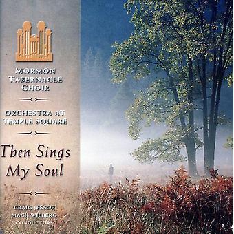 Mormon Tabernakel kor & orkester- så synger My Soul [CD] USA importerer