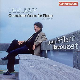 C. Debussy - Debussy: Complete Works for Piano, Vol. 2 [CD] USA import