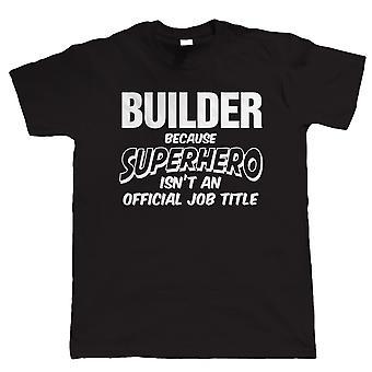 Vectorbomb, budowniczy superbohatera, Mens Funny T-Shirt (od S do 5XL)