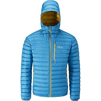 Rab Mens Microlight Alpine Jacket Merlin/Mimosa (X-Large)
