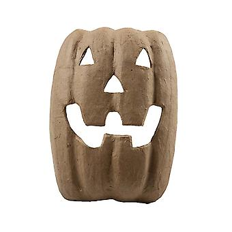SALE - Paper Mache Pumpkin Mask to Decorate for Halloween Crafts