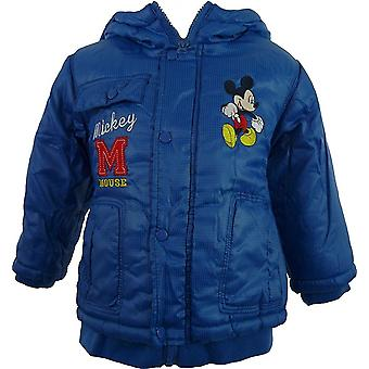 Jungen Disney Mickey Mouse Baby Winter mit Kapuze / Parka