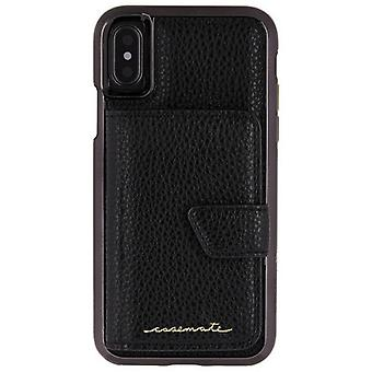 Case-Mate miroir Compact iPhone Case X - noir