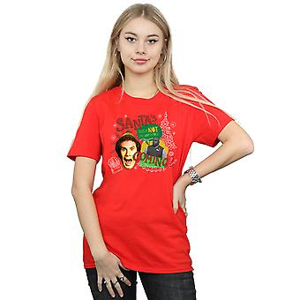 Elf Women's North Pole Boyfriend Fit T-Shirt