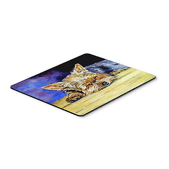 Carolines Treasures  7357MP Yorkie Taking a Nap Mouse Pad, Hot Pad or Trivet