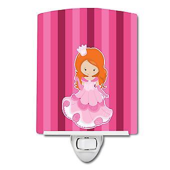 Carolines Schätze BB9005CNL Prinzessin Ginger Keramik Nachtlicht