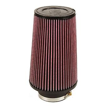 K&N RE-0920 Universal Clamp-On Air Filter: Round Tapered; 3.5 in (89 mm) Flange ID; 9 in (229 mm) Height; 6 in (152 mm)