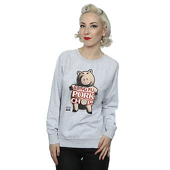 Disney Women's Toy Story Kung Fu Pork Chop Sweatshirt