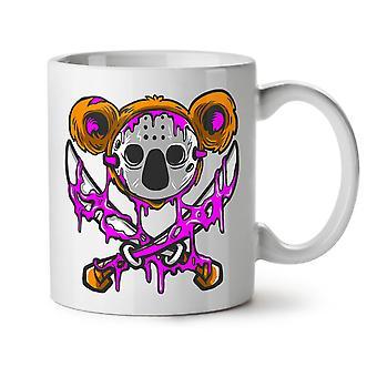Koala drap nye hvit te kaffe keramiske krus 11 oz | Wellcoda