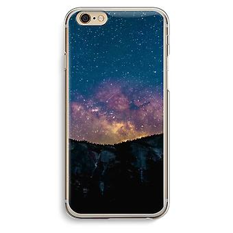 iPhone 6 / 6S Transparent Case - Travel to space