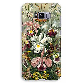 Samsung Galaxy S8 Plus Full Print Case (Glossy) - Haeckel Orchidae