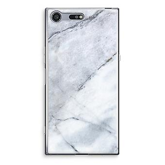 Sony Xperia XZ Premium Transparent Case (Soft) - Marble white