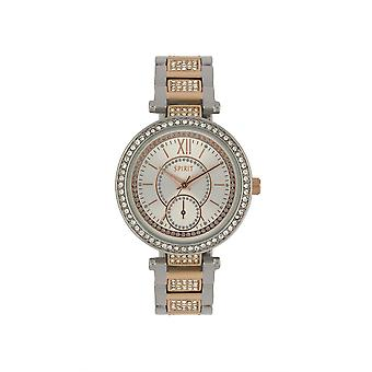 Ånd Luksus Ladies dame sølv Wrist Watch ASPL97X