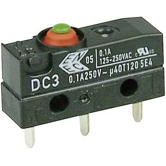 Microswitch 250 V AC 0.1 A 1 x On/(On) Cherry Switches