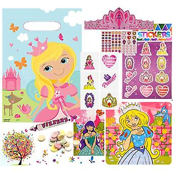 Pre Filled Ready Made Party Bag - Unisex - Princess (Single )