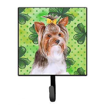Yorkshire Terrier #2 St Patrick's Leash or Key Holder