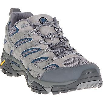 واصطف رجالي ميريل موآب 2 تنفيس تنفس شبكة أحذية المشي لمسافات طويلة سيرا على الأقدام