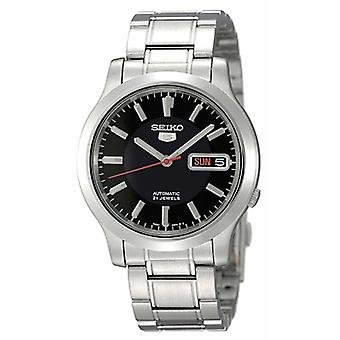 Seiko 5 Automatic Stainless Steel Black Dial Men's Watch SNK795K1