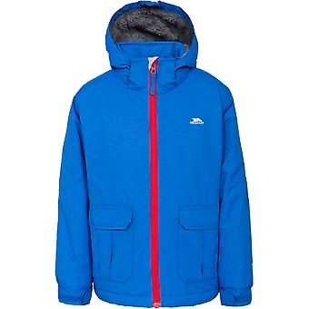 Trespass meninos Flemington acolchoado jaqueta impermeável Windproof Shell