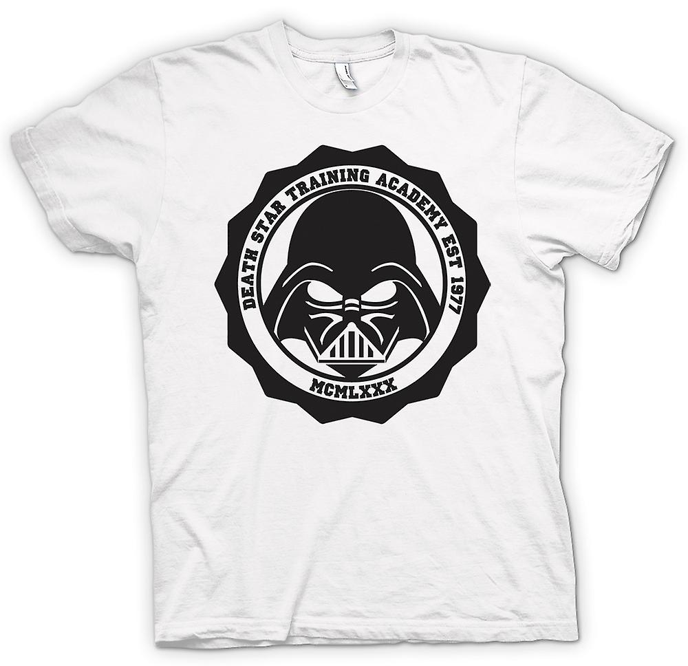 Womens T-shirt-Death Star - Training Academy - Vader