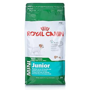 Royal Canin Dog Puppy Food Junior Mini Dry Mix 2kg