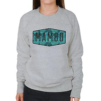 Mambo Leaf Encounter Art Women's Sweatshirt