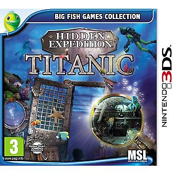 Hidden Expedition - Titanic (Nintendo 3DS)