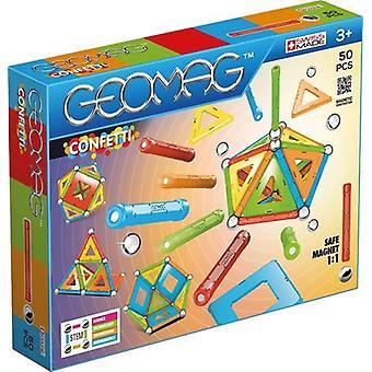 Geomag konfetti 50 PCer leker