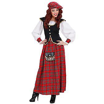 Skotske Lass tunge Fab drakt