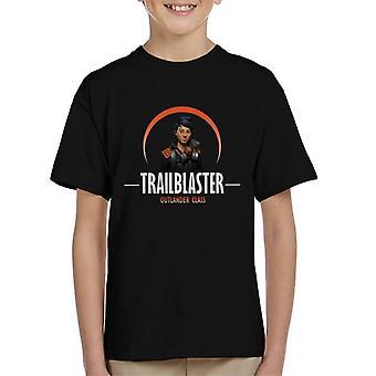 Fortnite Trailblaster Outlander Class Orange Kid's T-Shirt