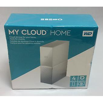 NEW WD My Cloud Home NAS Drive - 4 TB, White
