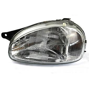 Left Headlamp (Manual Adjustment) for Opel COMBO 1993-2000