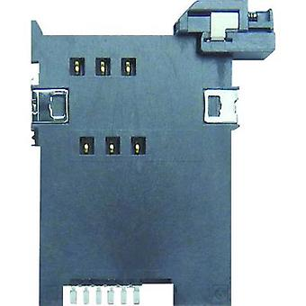 SIM Card connector No. of contacts: 6 Push Yamaichi FMS006-2310-0 1 pc(s)