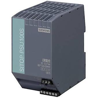 Siemens SITOP PSU100S 12 V/14 A trilho montado PSU (DIN) 12 Vdc 14 por 120 W 1 x