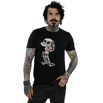 Disney mænds Mickey Mouse skelet T-Shirt