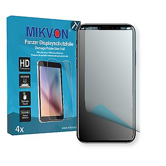 Apple iPhone XS Screen Protector - Mikvon Armor Screen Protector (Retail Package with accessories)
