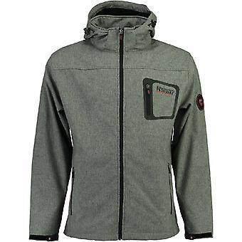 Geographical Norway Softshell jacket - TEXSHELL dark grey