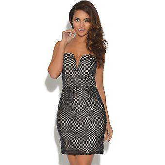 TFNC Sequin Sweetheart Dress
