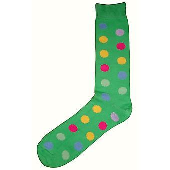 Bassin et Brown Spotted chaussettes Midcalf - vert/Multi-colour