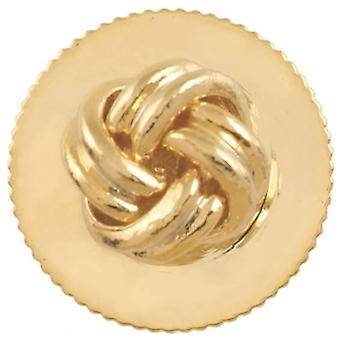 David Van Hagen Knot Dress Studs - Gold
