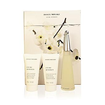 Issey Miyake L'eau d'Issey Gift Set 50ml EDT + 50 ml Body Lotion + 50ml-douche crème