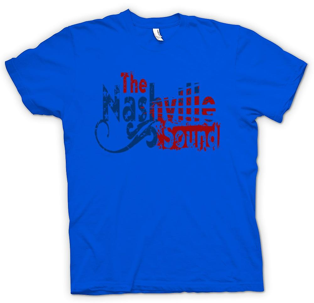 Mens T-shirt - Nashville Sound - Blues Country Music
