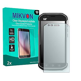 Cat S40 Screen Protector - Mikvon Clear (Retail Package with accessories)