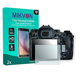 Ricoh Pentax K-1 Screen Protector - Mikvon Clear (Retail Package with accessories)
