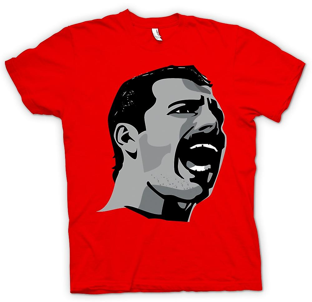 Mens t-skjorte-Freddie Mercury Pop Art portrett