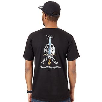 Powell Peralta Black Skull And Sword T-Shirt