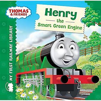 Thomas & vrienden: Mijn eerste spoor bibliotheek: Henry de slimme groene motor